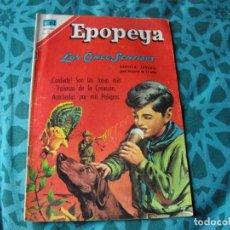 Tebeos: EPOPEYA - LOS 5 SENTIDOS Nº 114 EL DE LAS FOTOS VER TODOS MIS COMICS. Lote 149679242
