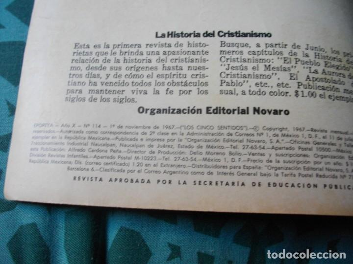 Tebeos: EPOPEYA - LOS 5 SENTIDOS Nº 114 EL DE LAS FOTOS VER TODOS MIS COMICS - Foto 3 - 149679242