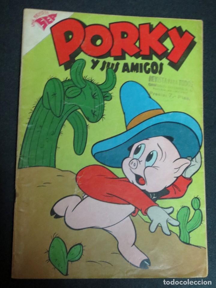 PORKY Y SUS AMIGOS Nº 89 1 FEBRERO 1959 (Tebeos y Comics - Novaro - Porky)