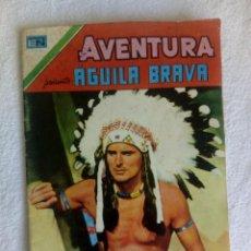 Tebeos: AVENTURA PRESENTA: ÁGUILA BRAVA // Nº 923 // SEPTIEMBRE 1979 // NOVARO. Lote 149821474
