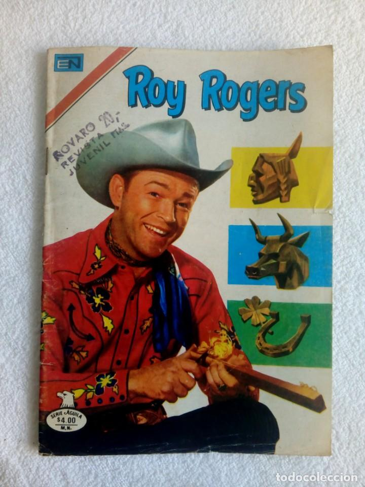 ROY ROGERS * Nº 433 * SERIE ÁGUILA * 1979 NOVARO MÉXICO (Tebeos y Comics - Novaro - Roy Roger)