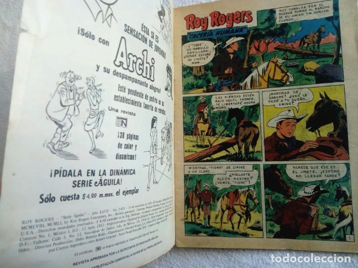 Tebeos: ROY ROGERS * nº 433 * Serie Águila * 1979 NOVARO México - Foto 2 - 149827886