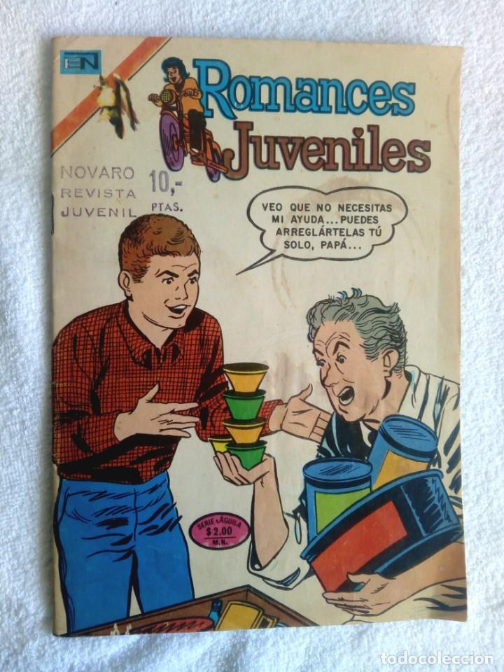 ROMANCES JUVENILES * Nº 225 * SERIE ÁGUILA * NOVARO MÉXICO * 1975 (Tebeos y Comics - Novaro - Otros)