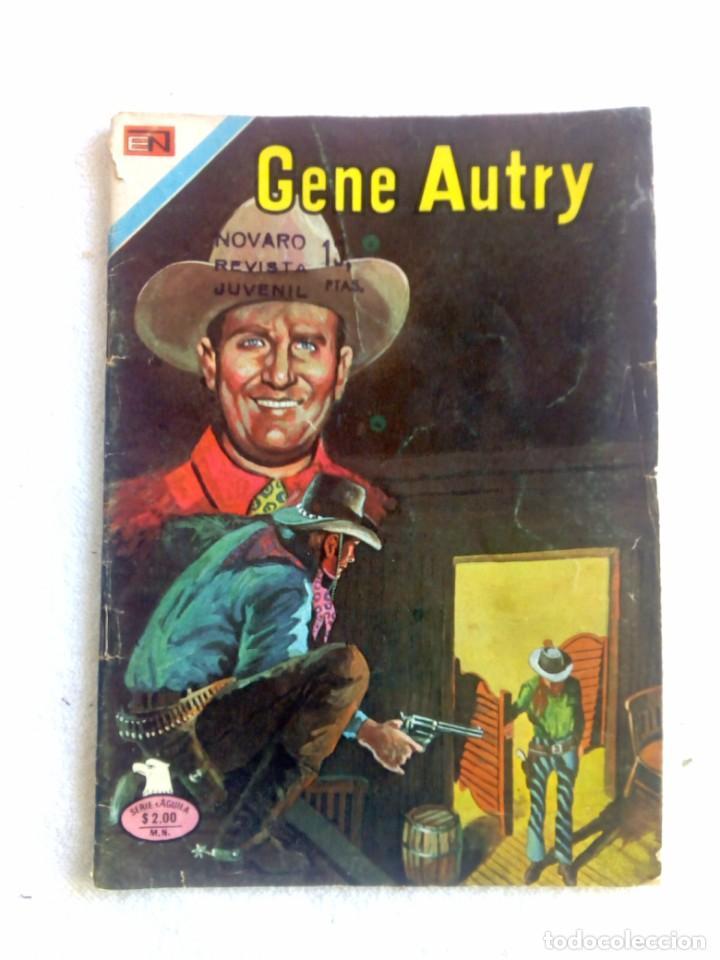 GENE AUTRY Nº 328 JUNIO 1975 NOVARO MÉXICO SERIE ÁGUILA (Tebeos y Comics - Novaro - Otros)