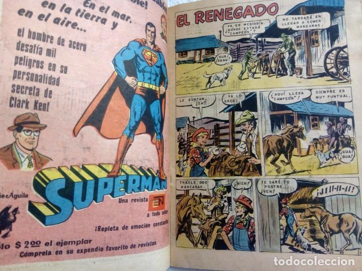 Tebeos: GENE AUTRY Nº 328 Junio 1975 NOVARO México Serie Águila - Foto 2 - 149841206
