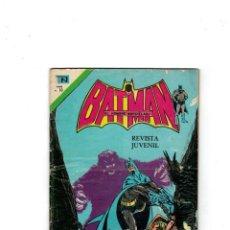 Tebeos: BATMAN -SERIE ÁGUILA- Nº 787. NOVARO,1975. Lote 149900978