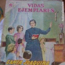 Tebeos: SANTA JOAQUIMA DE VEDRUNA ÚLTIMA SANTA CANONIZADA EDITORIAL NOVARO. Lote 150037754