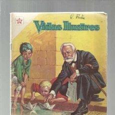 Tebeos: VIDAS ILUSTRES 64: VÍCTOR HUGO, EL ETERNO ABUELO, 1961, NOVARO, BUEN ESTADO. Lote 150183466