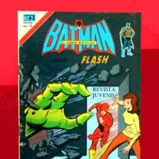 Tebeos: BATMAN PRESENTA A FLASH, Nº 2834, AÑO 1976, SERIE AGUILA, EDIT NOVARO - ORIGINAL, BUEN ESTADO. Lote 150293570