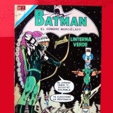 Tebeos: BATMAN PRESENTA LINTERNA VERDE, Nº.614 - 1972 - EDITORIAL NOVARO. ORIGINAL - DIFICIL. Lote 150297050