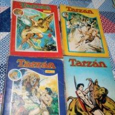 Tebeos: LOTE 4 LIBRO COMIC TARZAN NOVARO Nº XIII,XIV,XVI,XVII. Lote 150683462