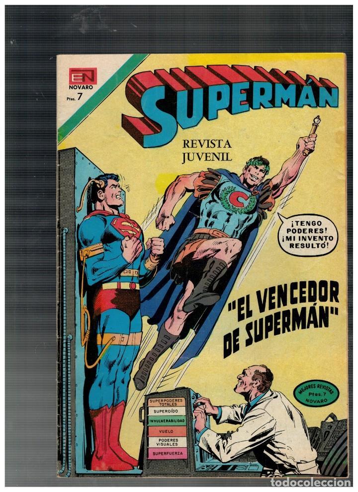 SUPERMÁN Nº 891 NOVARO,1973. BUENO. (Tebeos y Comics - Novaro - Superman)