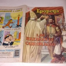 Tebeos: EPOPEYA - NUMERO 21 -. Lote 150752406