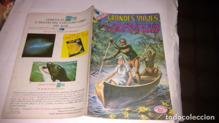 GRANDES VIAJES - NUMERO 129 - (Tebeos y Comics - Novaro - Grandes Viajes)