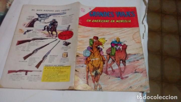 GRANDES VIAJES - NUMERO 12 - (Tebeos y Comics - Novaro - Grandes Viajes)