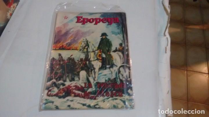 EPOPEYA - NUMERO 20 - LA RETIRADA DE MOSCU (Tebeos y Comics - Novaro - Epopeya)