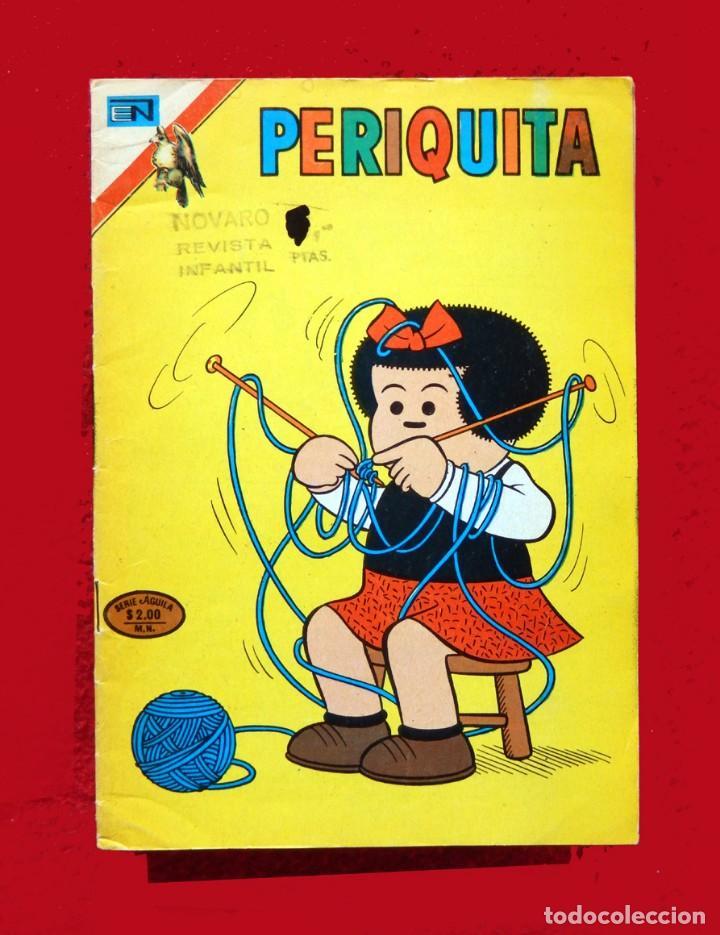 PERIQUITA, Nº 191 - 1975, SERIE ÁGUILA - EDITORIAL NOVARO - ORIGINAL - NUEVO - DIFÍCIL (Tebeos y Comics - Novaro - Otros)