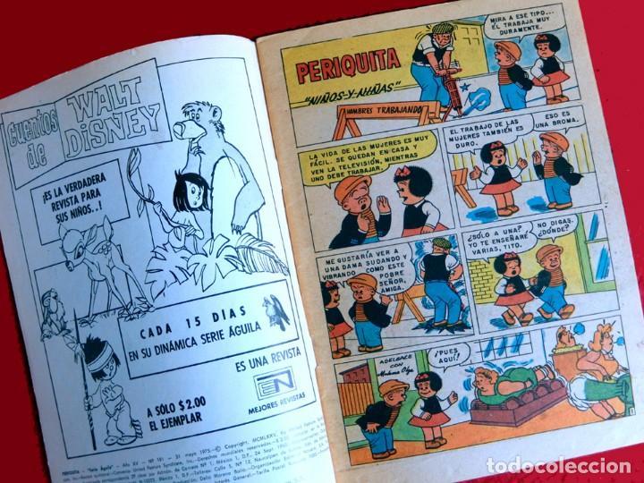 Tebeos: PERIQUITA, Nº 191 - 1975, SERIE ÁGUILA - EDITORIAL NOVARO - ORIGINAL - NUEVO - DIFÍCIL - Foto 3 - 217281645