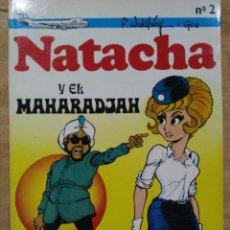 Tebeos: NATACHA Y EL MAHARADJAH - Nº 2 - ED. NOVARO . Lote 151076490