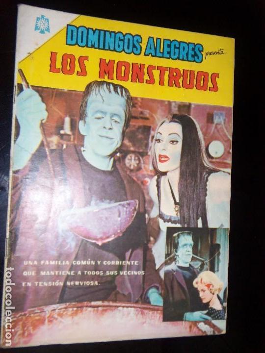 DOMINGOS ALEGRES N.600 LOS MONSTERS GERMAN MONSTER SERIE TV (Tebeos y Comics - Novaro - Domingos Alegres)