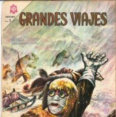 Tebeos: GRANDES VIAJES Nº 26. EL PASO DEL NOROESTE. NOVARO 1965. Lote 151204934