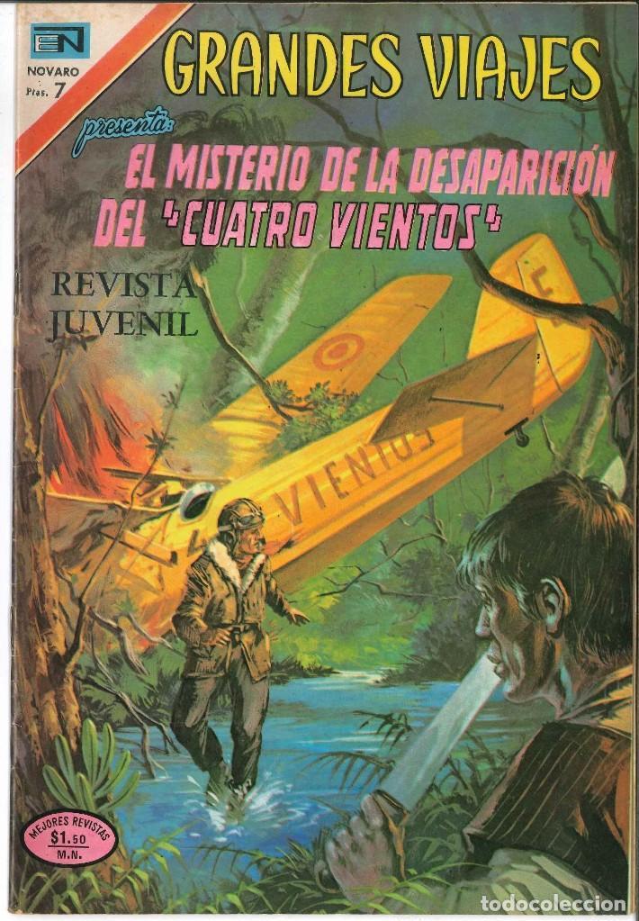 GRANDES VIAJES 137 EL MISTERIO DE LA DEAPARICIÓN DEL CUATRO VIENTOS NOVARO (Tebeos y Comics - Novaro - Grandes Viajes)