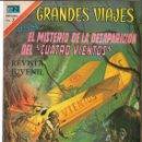 Tebeos: GRANDES VIAJES 137 EL MISTERIO DE LA DEAPARICIÓN DEL CUATRO VIENTOS NOVARO. Lote 151205642