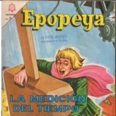 Tebeos: EPOPEYA NÚMERO 77 LA MEDICIÓN DEL TIEMPO NOVARO. Lote 151205906