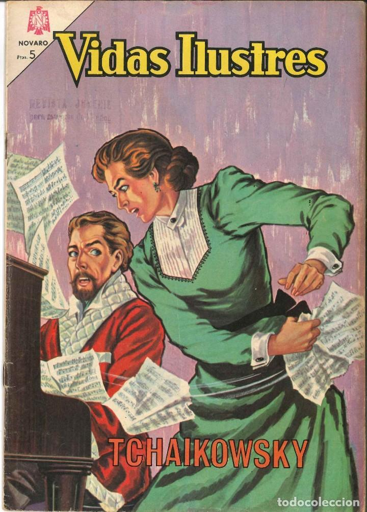 VIDAS ILUSTRES NÚMERO 109 TCHAIKOWSKY NOVARO (Tebeos y Comics - Novaro - Vidas ilustres)