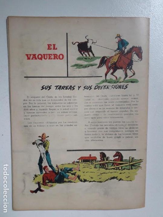 Tebeos: Aventura n° 41 - Caballos salvajes! - original editorial Novaro - Foto 4 - 151237050