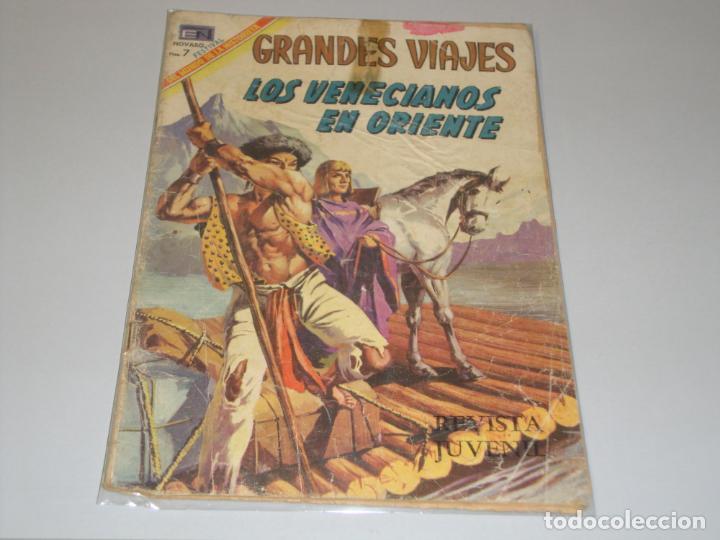 GRANDES VIAJES Nº 74 LOS VENECIANOS EN ORIENTE (Tebeos y Comics - Novaro - Grandes Viajes)