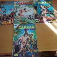 Tebeos: 4 COMICS TARZAN EDITORIAL NOVARO AÑOS 70. Lote 151291958