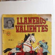 Tebeos: LLANEROS VALIENTES Nº 4 - 3 -11-1953 - . Lote 151323238