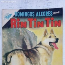 Tebeos: DOMINGOS ALEGRES Nº 85 - RIN TIN TIN - SEA 1955. Lote 151323410