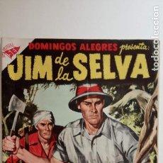 Tebeos: DOMINGOS ALEGRES - JIM DE LA SELVA Nº 132 - 1956 SEA - MUY NUEVO. Lote 151324214