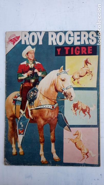 ROY ROGERS Y TIGRE Nº 53 - SEA 1957 (Tebeos y Comics - Novaro - Roy Roger)