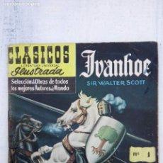 Tebeos: CLÁSICOS ILUSTRADOS Nº 1 - IVANHOE - SIR WALTER SCOTT - 1 MARZO 1953. Lote 151326738