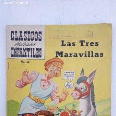 Tebeos: CLÁSICOS ILUSTRADOS INFANTILES Nº 46 - 1958- MUY BUEN ESTADO. Lote 151327554