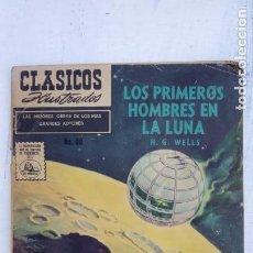 Tebeos: CLASICOS ILUSTRADOS Nº 80 - 1959 - H.G.WELS - LOS PRIMEROS HOMBRES EN LA LUNA. Lote 151328390