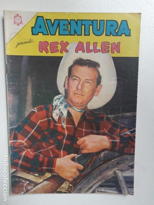 AVENTURA N° 421 - REX ALLEN! - ORIGINAL EDITORIAL NOVARO (Tebeos y Comics - Novaro - Aventura)