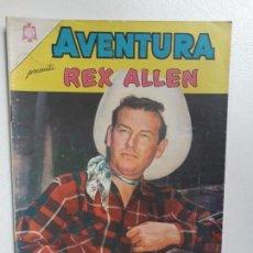 Tebeos: AVENTURA N° 421 - REX ALLEN! - ORIGINAL EDITORIAL NOVARO. Lote 151359530