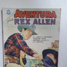 Tebeos: AVENTURA N° 433 - REX ALLEN! - ORIGINAL EDITORIAL NOVARO. Lote 151359730