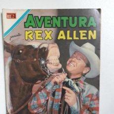Tebeos: AVENTURA N° 641 - REX ALLEN! - ORIGINAL EDITORIAL NOVARO. Lote 151360234