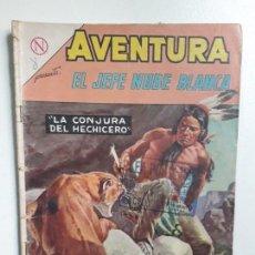 Tebeos: AVENTURA N° 334 - EL JEFE NUBE BLANCA - ORIGINAL EDITORIAL NOVARO. Lote 151362974
