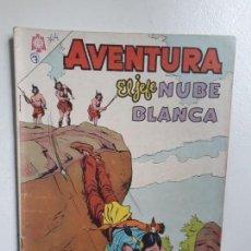 Tebeos: AVENTURA N° 344 - EL JEFE NUBE BLANCA - ORIGINAL EDITORIAL NOVARO. Lote 151363282