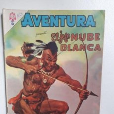 Tebeos: AVENTURA N° 353 - EL JEFE NUBE BLANCA - ORIGINAL EDITORIAL NOVARO. Lote 151363494