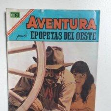 Tebeos: AVENTURA N° 506 - EPOPEYAS DEL OESTE - ORIGINAL EDITORIAL NOVARO. Lote 151363758
