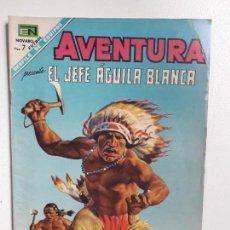 Tebeos: AVENTURA N° 541 - EL JEFE ÁGUILA BLANCA - ORIGINAL EDITORIAL NOVARO. Lote 151364390