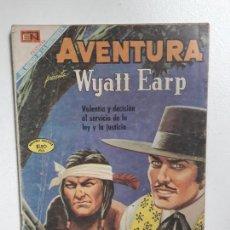 Tebeos: AVENTURA N° 607 - WYATT EARP! - ORIGINAL EDITORIAL NOVARO. Lote 151364622