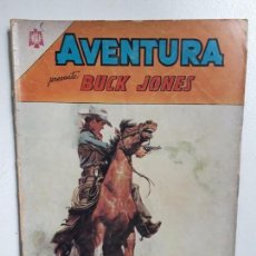 Tebeos: AVENTURA N° 357 - BUCK JONES - ORIGINAL EDITORIAL NOVARO. Lote 151478838